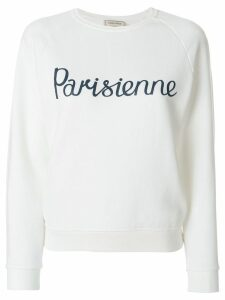 Maison Kitsuné Parisienne sweatshirt - White