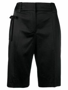 Prada logo shorts - Black