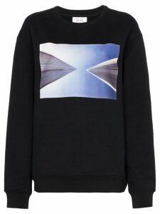 Calvin Klein Jeans Est. 1978 Graphic print cotton blend jumper - Black