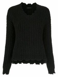 Uma Raquel Davidowicz Sonia knitted top - Black