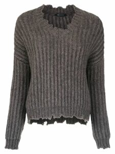 Uma Raquel Davidowicz Sonia knitted sweater - Grey