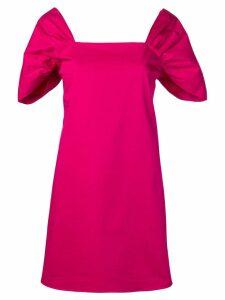 Theory draped sleeve dress - PINK