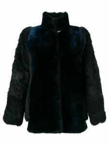 A.N.G.E.L.O. Vintage Cult short fur coat - Blue