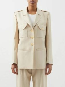 Miu Miu - Crystal Embellished Wool Jumper - Womens - Red
