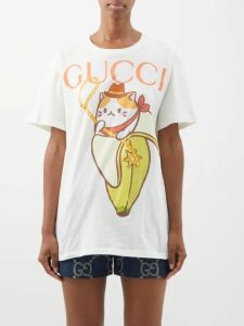 Gucci - Koire Oversized Leather Flatform Trainers - Womens - Black