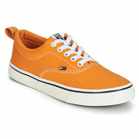 Tommy Jeans  VIRGINIA 1D  women's Shoes (Trainers) in Orange