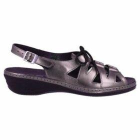 Suave  3004 Sandalias Casual con Cordones de Mujer  women's Sandals in Grey