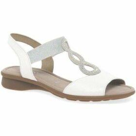 Gabor  Merlin Womens Open Toe Flat Sandals  women's Sandals in White