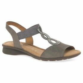Gabor  Merlin Womens Open Toe Flat Sandals  women's Sandals in Grey