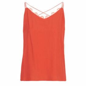 See U Soon  GARAGAITE  women's Vest top in Red