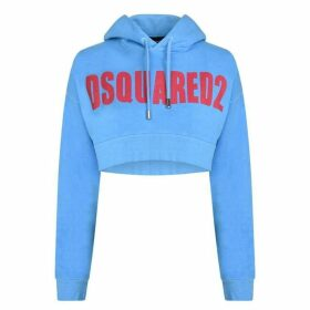 DSquared2 Cropped Logo Sweatshirt