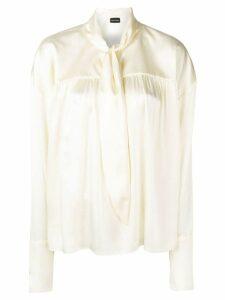 Magda Butrym Calada blouse - Neutrals