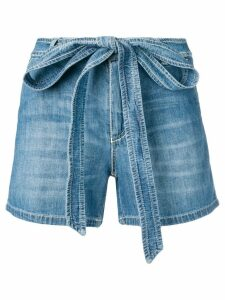 Ermanno Scervino denim shorts - Blue