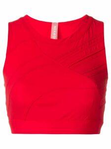 No Ka' Oi cropped tank top - Red