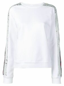 Iceberg sequin embroidered top - White