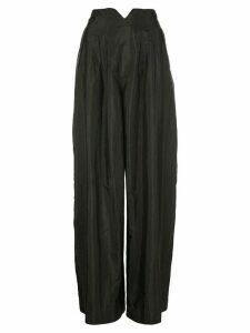 Rosie Assoulin banana trousers - Black