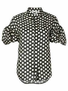 Dice Kayek polka dot blouse - Black