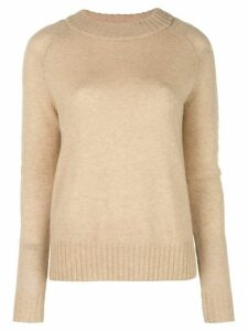 Co round neck jumper - Brown