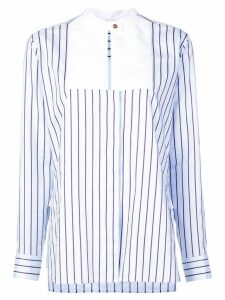 Rosetta Getty striped blouse - Blue