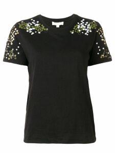 Michael Michael Kors floral T-shirt - Black