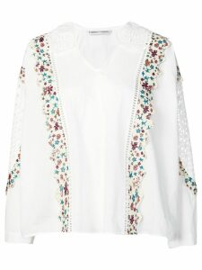 Tsumori Chisato embroidered blouse - White