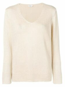 Filippa-K v-neck jumper - NEUTRALS