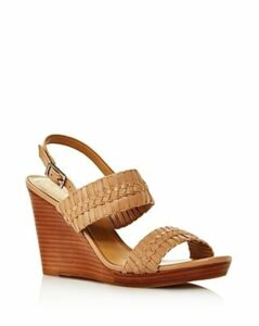 Jack Rodgers Women's Tinsley Woven Leather Wedge Sandals