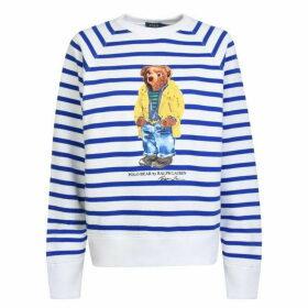 Polo Ralph Lauren Stripe Bear Sweatshirt