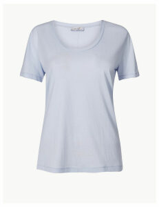 Per Una Pure Supima Cotton Regular Fit T-Shirt