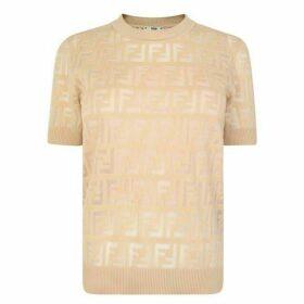 Fendi Knitted Cotton Jumper