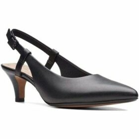 Clarks  Linvale Loop Womens Slingback Shoes  women's Court Shoes in Black