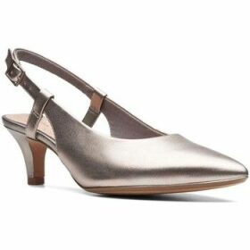 Clarks  Linvale Loop Womens Slingback Shoes  women's Court Shoes in Silver