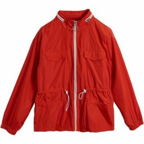 On Parle De Vous  Short straight jacket  women's Jacket in Red