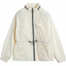 On Parle De Vous  Short straight jacket  women's Jacket in White