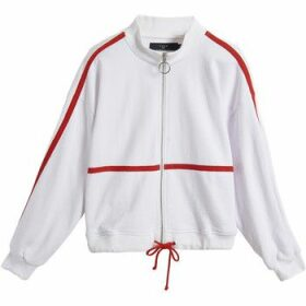 On Parle De Vous  Sportswear jersey jacket  women's Sweatshirt in White
