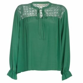 Cream  MILANIE  women's Blouse in Green