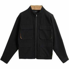 On Parle De Vous  Worker style jacket  women's Jacket in Black