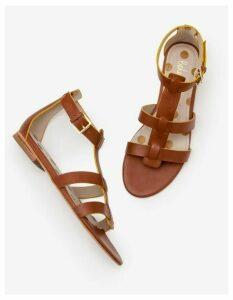 Eva Gladiator Sandals Brown Women Boden, Tan