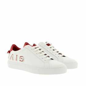 Givenchy Sneakers - Urban Street Logo Sneakers White/Red - white - Sneakers for ladies