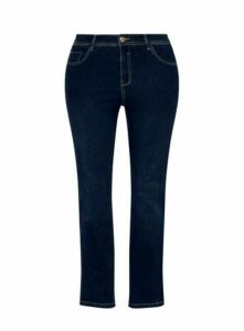 Indigo Straight Leg Jeans, Indigo