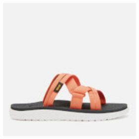 Teva Women's Voya Slide Sandals - Flamingo - UK 8