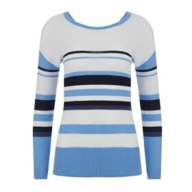 Blue Striped Jumper