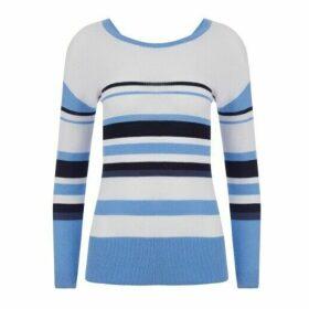Blue Striped Jumper
