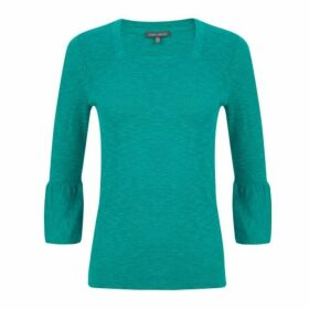 Jade Square Neck Jumper