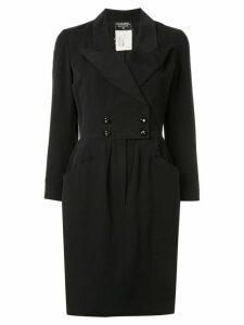 Chanel Pre-Owned tuxedo dress - Black