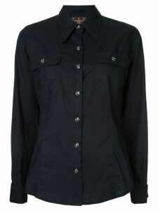 Fendi Pre-Owned pointed collar shirt - Blue