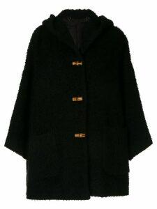 Gucci Pre-Owned longsleeve jacket coat - Black