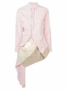 Comme Des Garçons Pre-Owned 1998 striped shirt - Red