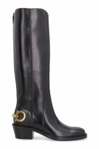 Salvatore Ferragamo Leather Boots