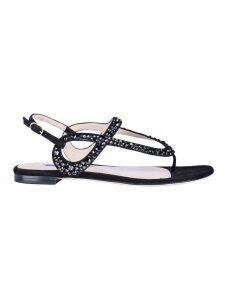 Stuart Weitzman Allura Flat Sandals